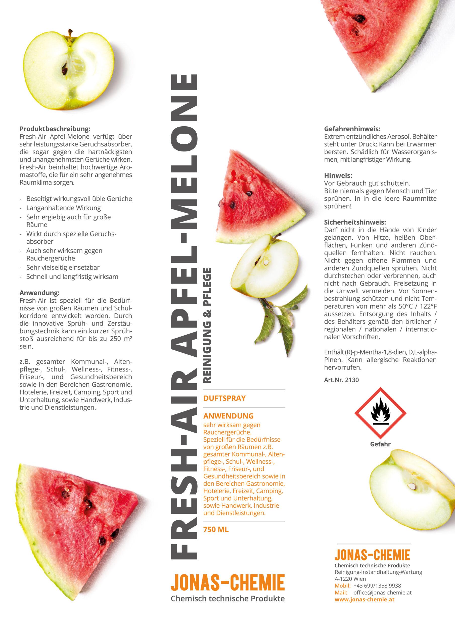 Jonas-Chemie_Aufkleber-Dose_Reiniger_210x297_gr_FreshAir_Apfel-M