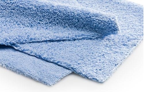 Microfasertuch Blau 40 40