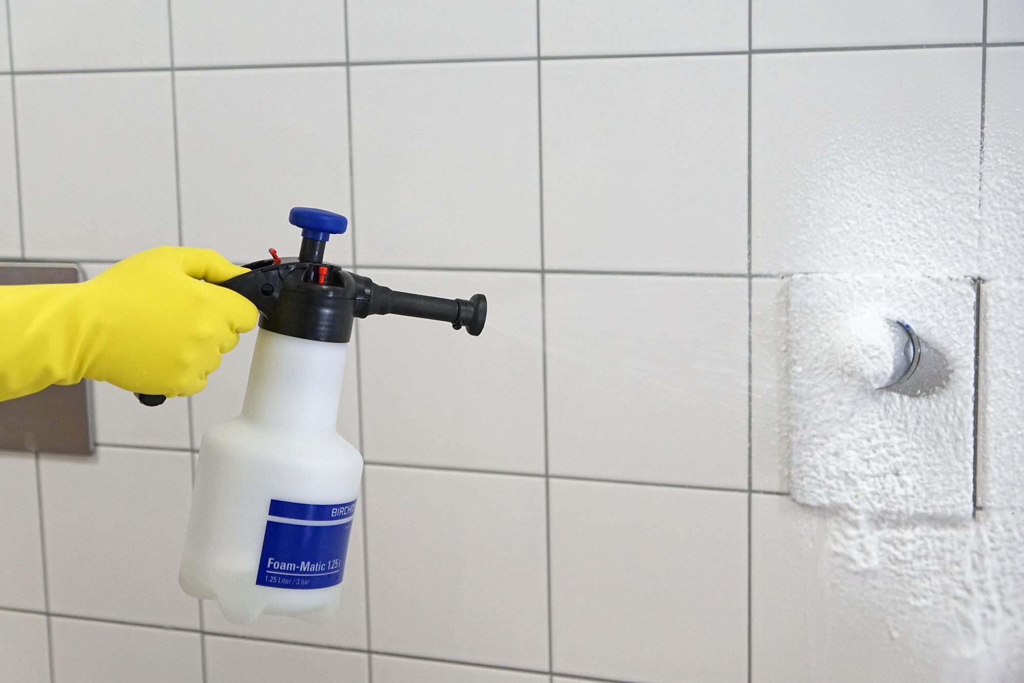 Birchmeier Foam-Matic-1.25-E Sanitärbereich