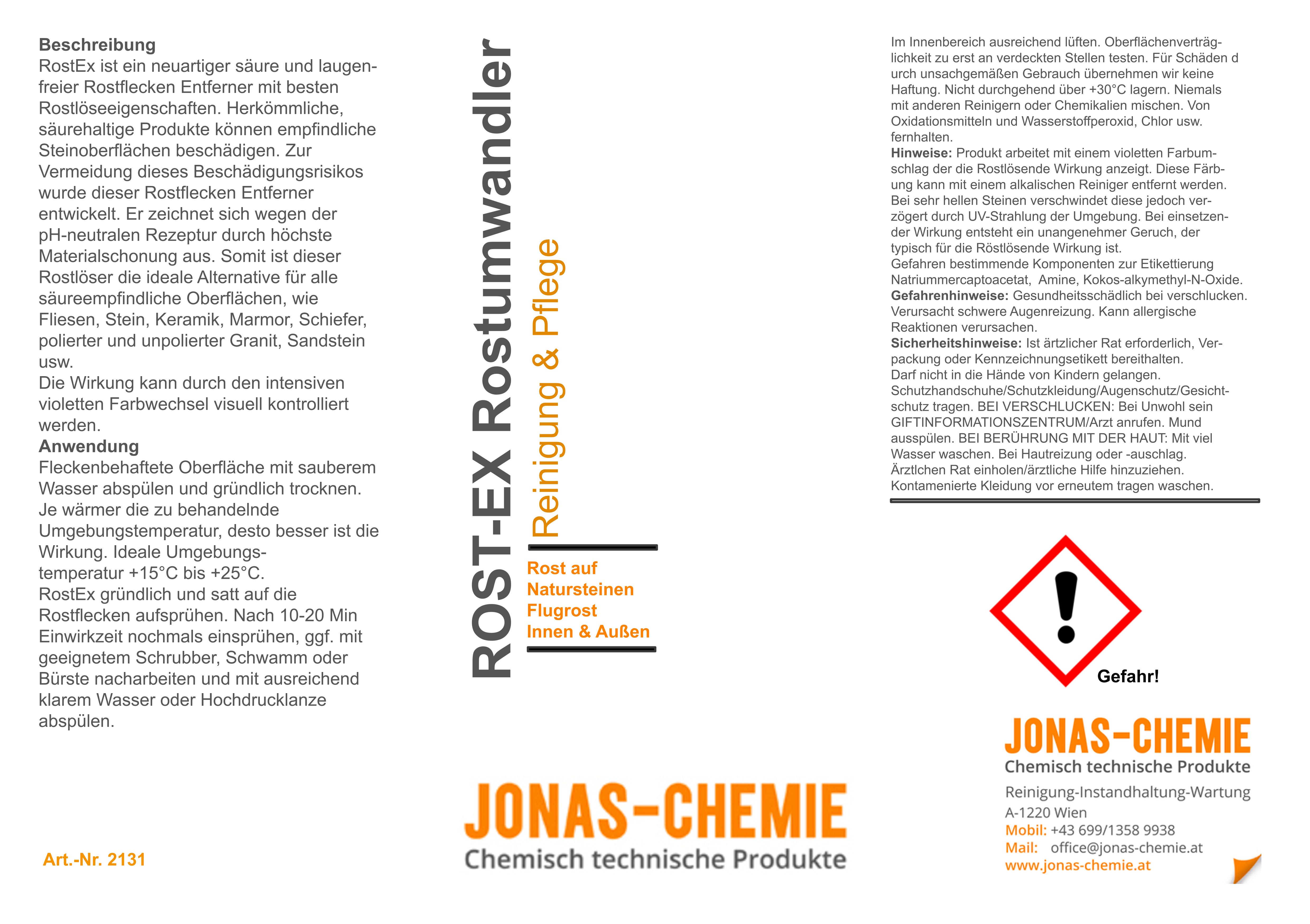 Rost-Ex Rostumwandler